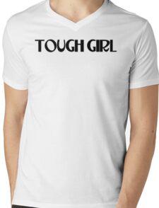 TOUGH GIRL Mens V-Neck T-Shirt