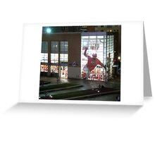 MLB Cincinnati Reds Baseball Stadium/Museum at Night Photo Greeting Card