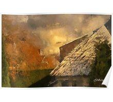White and Autumn Colours - Edegem - Belgium Poster
