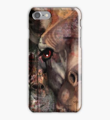 Concrete Giraffe iPhone Case/Skin
