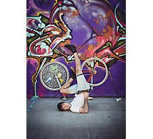 Pinup Bike Polo Cutie #9 Photographic Print