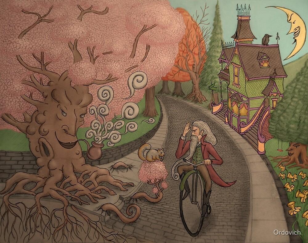 Cobble Tree Street by Ordovich by O von Ordovich