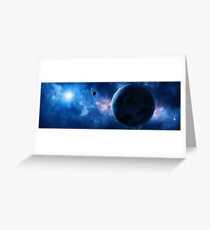 Abydos - Blue Dwarf Star Greeting Card