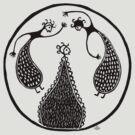 Minoan Dancers by Apotypomata
