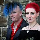 Punk couple by leephotoofyork