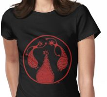 Minoan Dancers 3 Womens Fitted T-Shirt