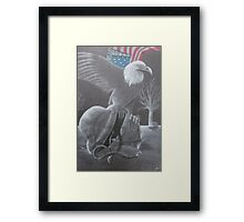 One Last Time, For All Framed Print