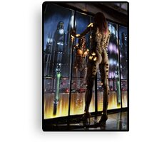 Cyberpunk Painting 064 Canvas Print