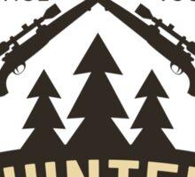 Hunter Sticker Sticker