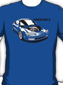 Mazda MX-6 (Model Name, Right) T-Shirt