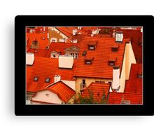 Roofs 2 Canvas Print
