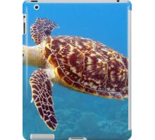 Fluffy Hawksbill Sea Turtle iPad Case/Skin