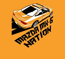 Mazda MX-6 (Birds Eye, 3/4 view) Unisex T-Shirt