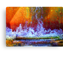 Fountain Of Life Canvas Print