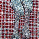 Meat on Italian tablecloth by Goran Medjugorac
