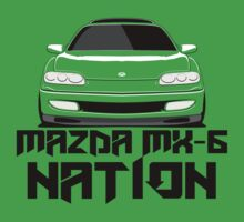 Mazda MX-6 Nation  (Front View) by nwdesign