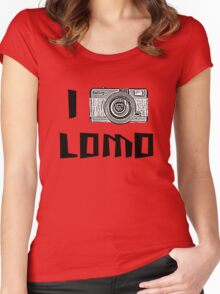 I Love Lomo Women's Fitted Scoop T-Shirt