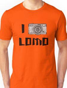 I Love Lomo Unisex T-Shirt