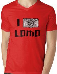 I Love Lomo Mens V-Neck T-Shirt