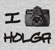 I Love Holga by Jeff Clark
