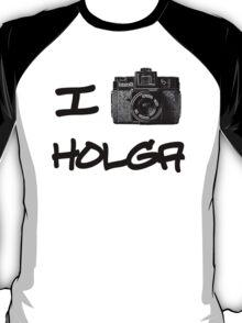 I Love Holga T-Shirt