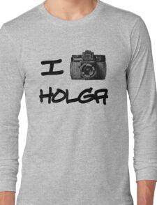 I Love Holga Long Sleeve T-Shirt
