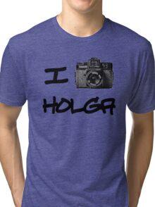 I Love Holga Tri-blend T-Shirt