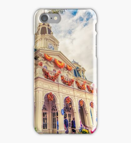 City Hall at Halloween iPhone Case/Skin