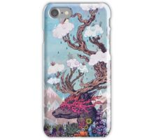 Journeying Spirit (deer) iPhone Case/Skin
