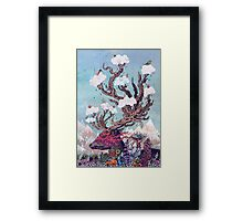 Journeying Spirit (deer) Framed Print