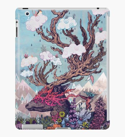 Journeying Spirit (deer) iPad Case/Skin