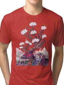 Journeying Spirit (deer) Tri-blend T-Shirt
