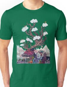 Journeying Spirit (deer) Unisex T-Shirt