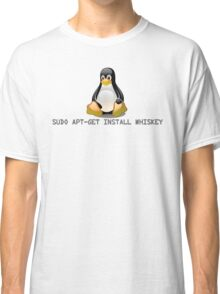 Linux - Get Install Whiskey Classic T-Shirt