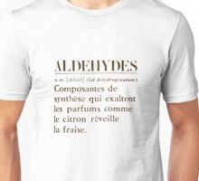 Aldehydes French Words Unisex T-Shirt