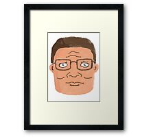 crayola hank Framed Print