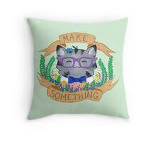 Make Something Throw Pillow
