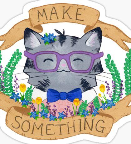 Make Something Sticker
