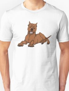 Pit Bull - Red Unisex T-Shirt