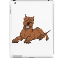 Pit Bull - Red iPad Case/Skin