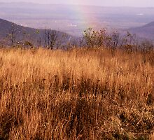 Rainbow on the Ridge by bearphoto