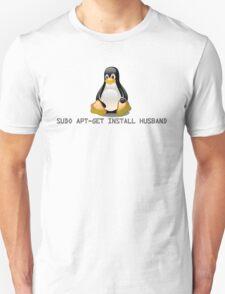 Linux - Get Install Husband Unisex T-Shirt