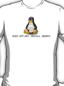 Linux - Get Install Ubuntu T-Shirt