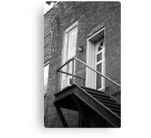 Jonesborough, Tennesee - Upstairs Neighbors Canvas Print