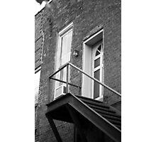 Jonesborough, Tennesee - Upstairs Neighbors Photographic Print