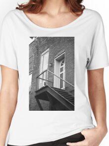 Jonesborough, Tennesee - Upstairs Neighbors Women's Relaxed Fit T-Shirt