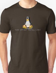 Linux - Get Install Linux Unisex T-Shirt