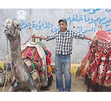 Camel keeper Photographic Print