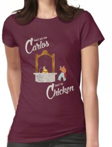 Carlos Womens Fitted T-Shirt