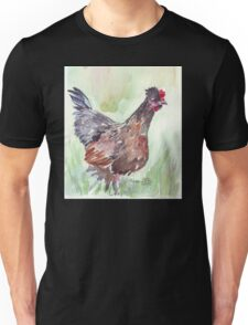 The chicken diaries - Mom-to-be Unisex T-Shirt